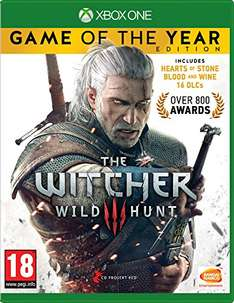Witcher 3: Wild Hunt - Game of the Year Edition (Xbox One) für 23,21€ (Amazon.co.uk)