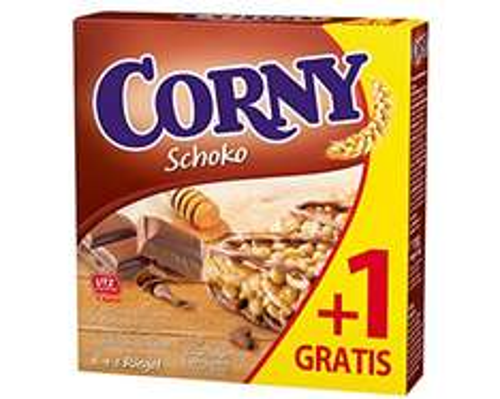 70x Corny Schoko Riegel (6+1 Riegel x 10) für 10,53 EUR [1,75 KG]