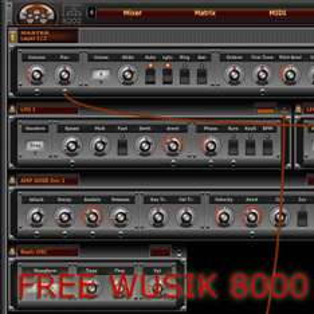 Wusik 8000 Modular Software Synthesizer (VST/AU)