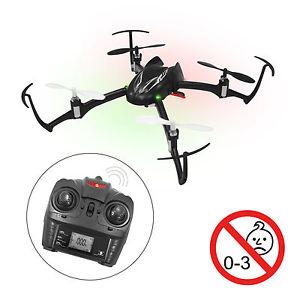 Quadrokopter Raider 2,4 GHz RC Flug Drohne 6-Achsen Gyroskop