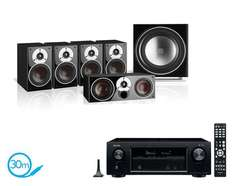 [5.1 AVR Bundle Import UK Vorbestellung - Anfang Juli] Denon X1400H 7.2 Kanal AV-Receiver + Dali Zensor 5.1 System | HEOS HDCP 2.2 Dolby Vision HLG Dolby Atmos DTS:X Audyssey MultEQ XT | alle Farben