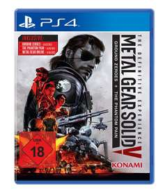 [Lokal München Theresienwiese] Metal Gear Solid 5 - The Definitive Edition (PS4) für 9,99€