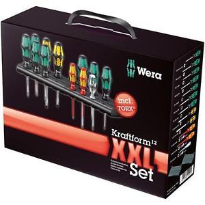Wera Schraubendreher Satz Kraftform Big Pack XXL TX 12 tlg + 2 x Rack [Ebay]
