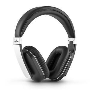 [ebay] auna Elegance Bluetooth-Kopfhörer Wireless Stereo Headset Over-Ear (Freisprechfunktion, Mikrofon, Kunstleder, Akku-Betrieb, Alu, Bluetooth 4.0, NFC, Noise Canceling) schwarz-silber