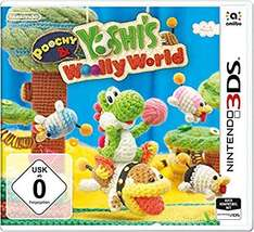 [Amazon.de Prime oder Buchtrick] Poochy & Yoshi's Woolly World - [Nintendo 3DS]