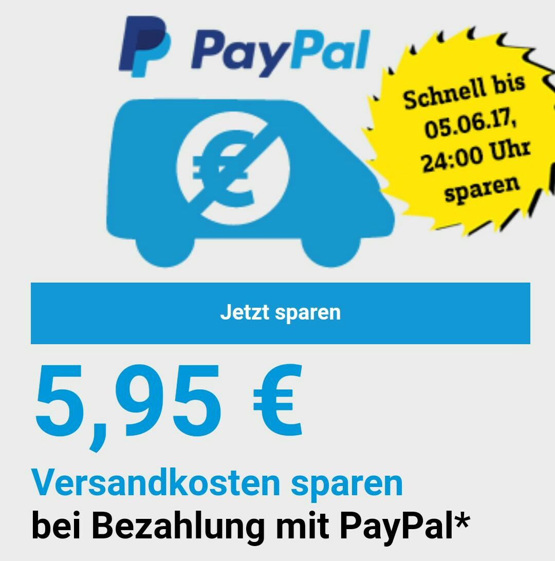 Gratis Versand bei Conrad mit PayPal Zahlung (MBW 29€) bis 05.06.
