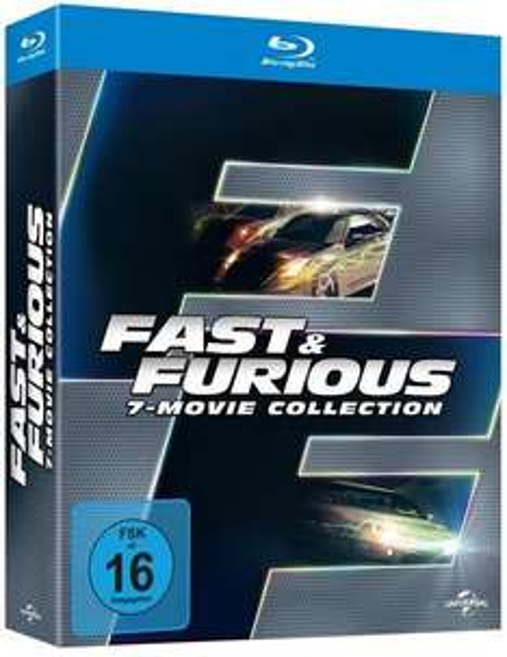 Fast & Furious - 7-Movie Collection  Blu-ray  @ Thalia