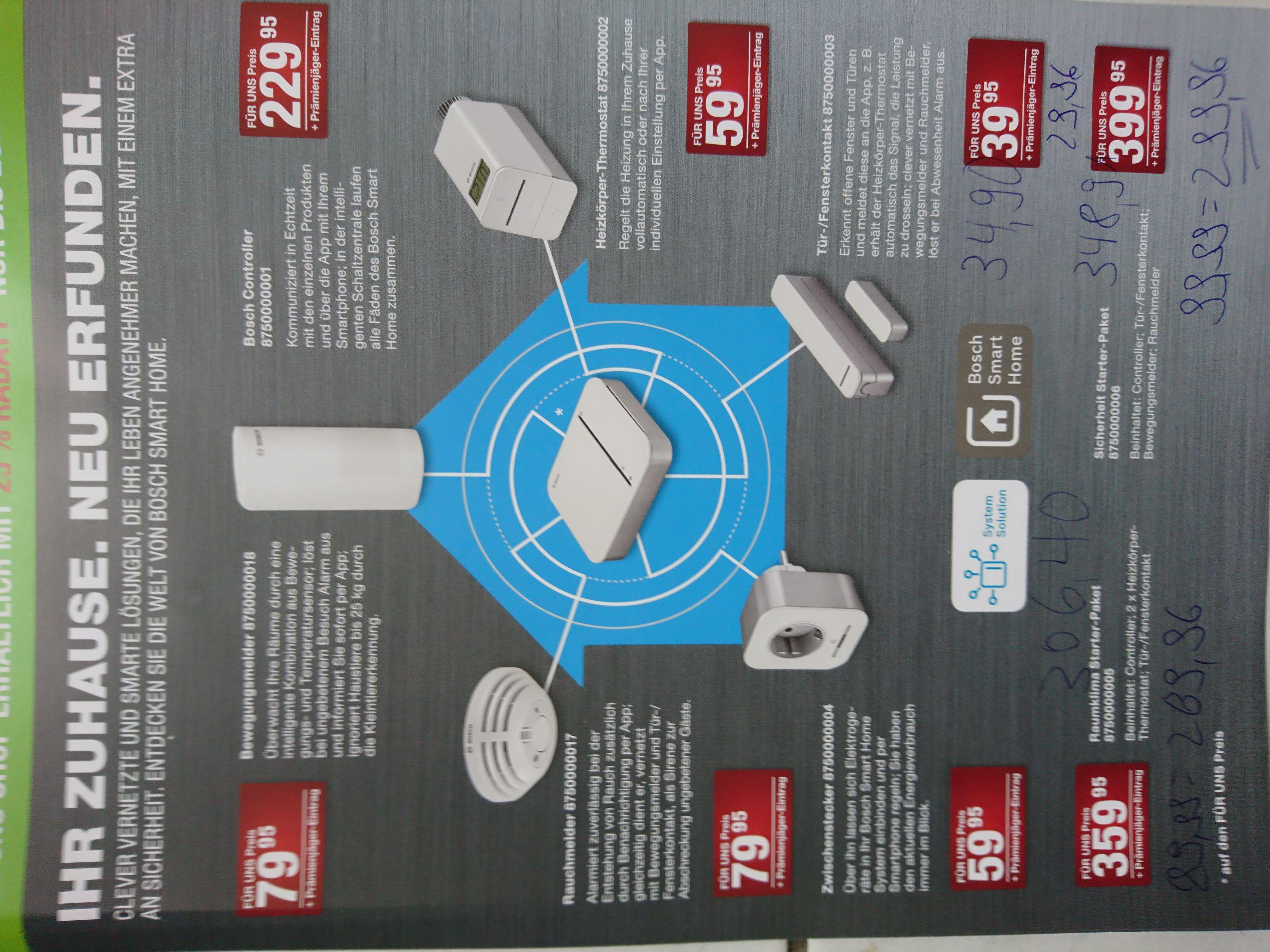 Lokal (?) Essen: 25% auf alle Bosch Smart Home Produkte im Für Uns Shop.