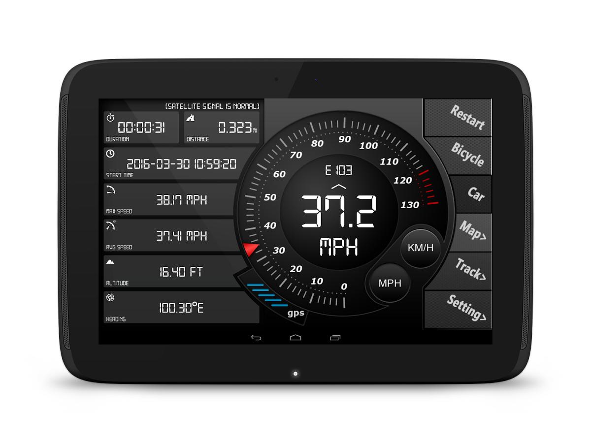 [Android] Digital Dashboard GPS Pro (0,00 statt 0,66)