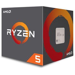 AMD RYZEN 5 1600 @mindfactory.de (ohne VSK durch Midnight-Shopping  bis 06:00Uhr)