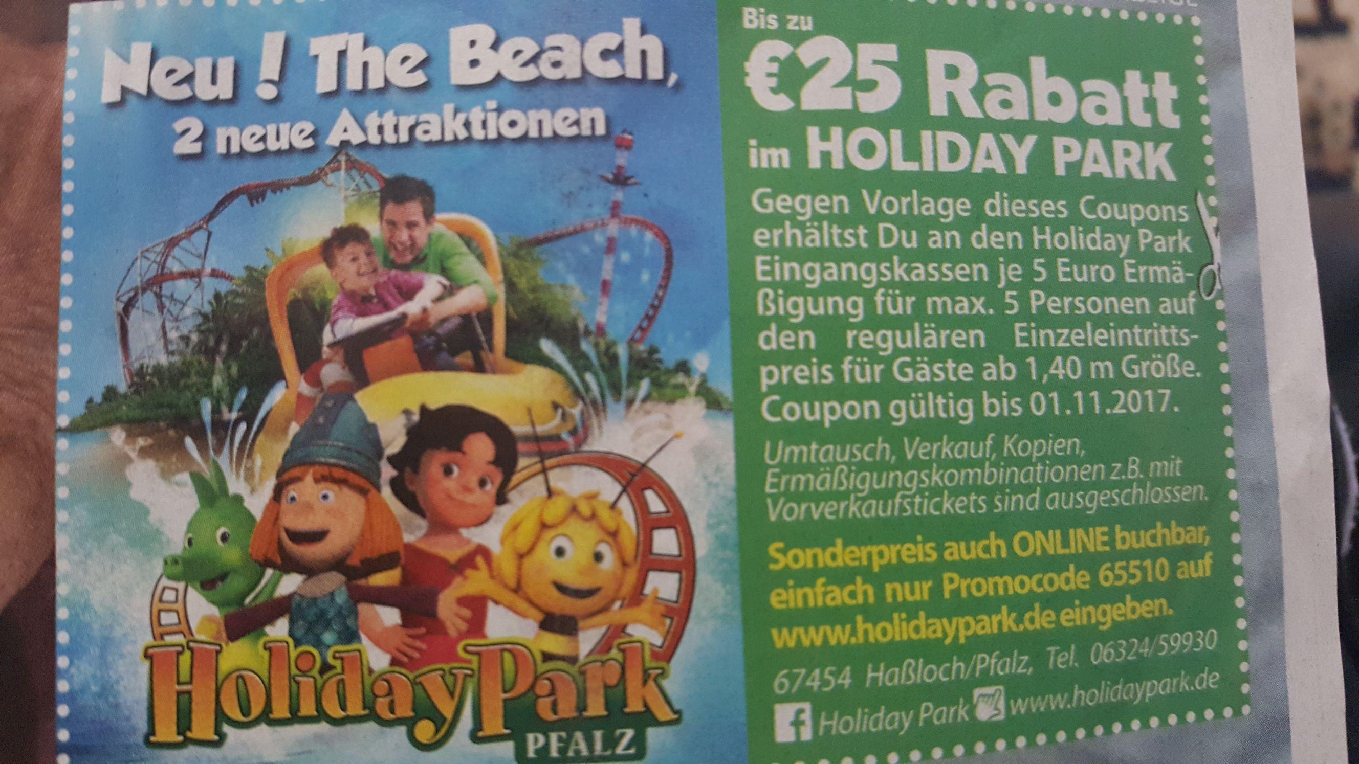 holidaypark Gutschein