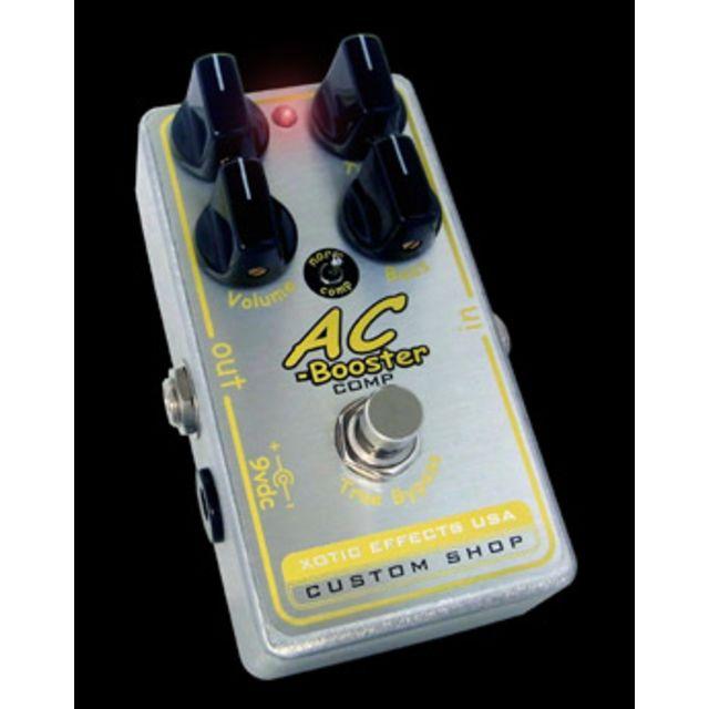 [musicstore] XOTIC AC Booster Comp Custom Shop für 192 € / 20% unter Idealo (Boost/Kompressor/Overdrive Effektpedal,