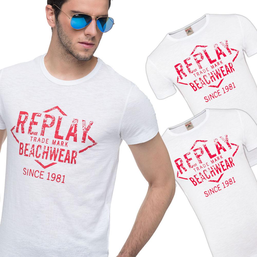 3er-Pack Replay Herren Shirts für 15,99€ [ebay]