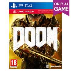 Doom + UAC Pack (Xbox One & PS4) für je 13,10€ (Game UK)