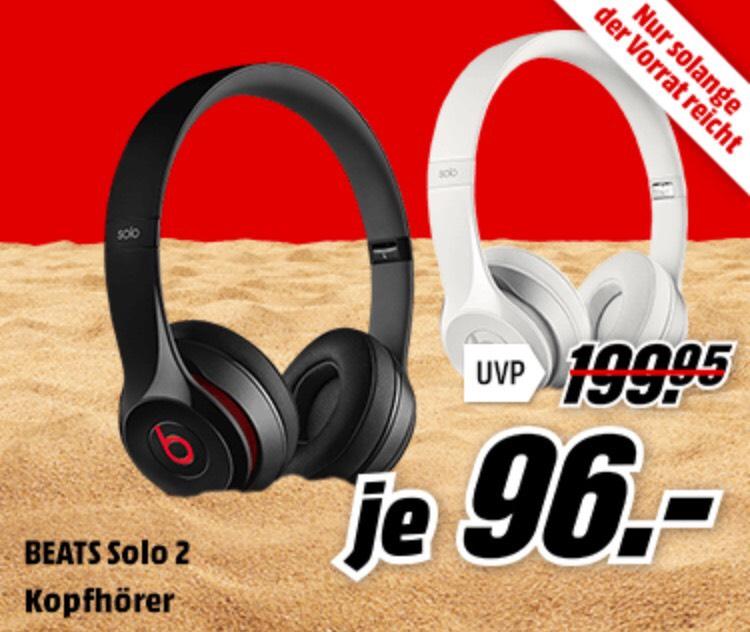 Beats Solo 2 am 06.06. für 96€ bei Media Markt On- und Offline (Sechsy Preis)
