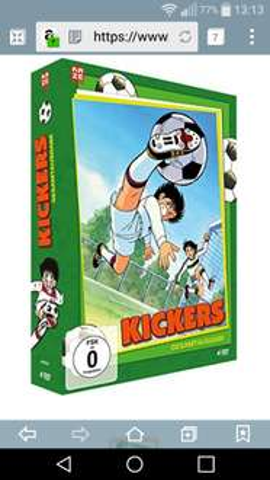 Kickers Komplettbox 4 DVDs bei Amazon