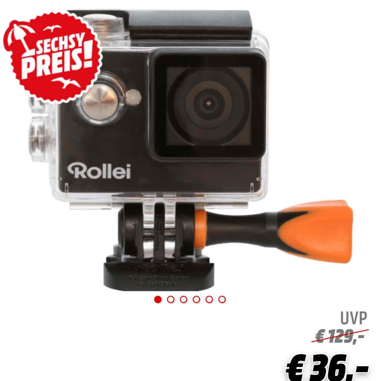 ROLLEI 350 Actioncam , WLAN für 36€ ( Media Markt )