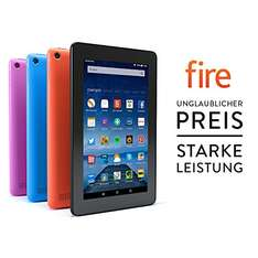 Fire-Tablet, 17,7 cm (7 Zoll) Display, WLAN, 8 GB (Schwarz) Amazon Tagesangebot