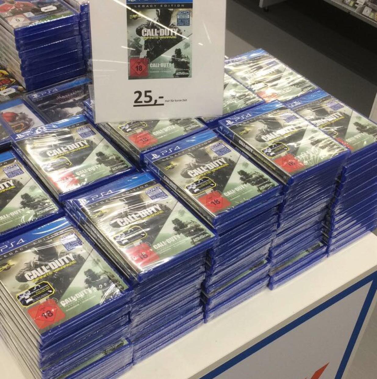 Infinite Warfare Legacy PS4 im Saturn Braunschweig (lokal)