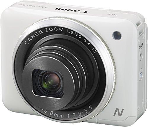 Canon PowerShot N2 Digitalkamera (16,1 Megapixel CMOS, HS-System, 8-fach optisch, Zoom, opt. Bildstabilisator, 7,1 cm (2,8 Zoll) Tilt-up Touch LCD, Selbstporträt, Full HD Movie, WLAN)