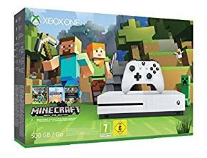 Xbox One S 500Gb Minecraft Bundle ab 157,66€ [Amazon WHD]