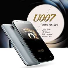 Ulefone U007 5.0 Zoll / Android 6 / HD Display / 1 GB RAM / 8 GB Speicher