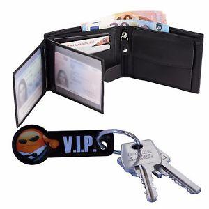echt Leder Geldbeutel mit RFID NFC Blocker Hochformat mit 35% für 16,87€ inkl. Versand