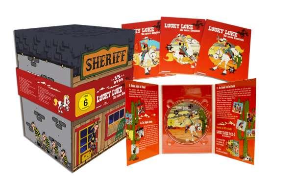 [lokal Saturn Berlin Alex] Lucky Luke - Die neuen Abenteuer (komplette Serie mit 15 DVDs) für 19,99€ & Sammys Abenteuer als Kuschel-Edition für 7,99€