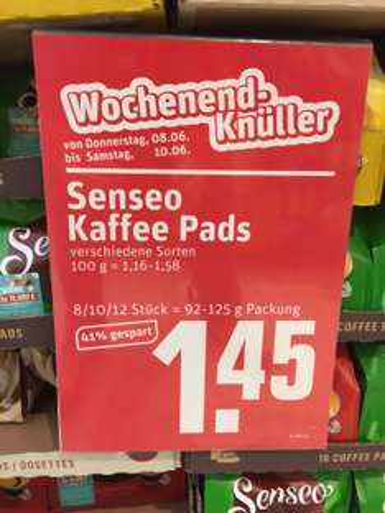 [REWE] Senseo Kaffee Pads