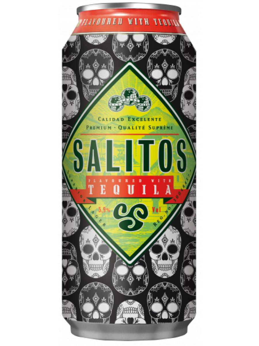 Salitos Tequila Skull Edition, Bier mit Tequila-Geschmack, 0,5l Dose für 79 Cent [Lidl]