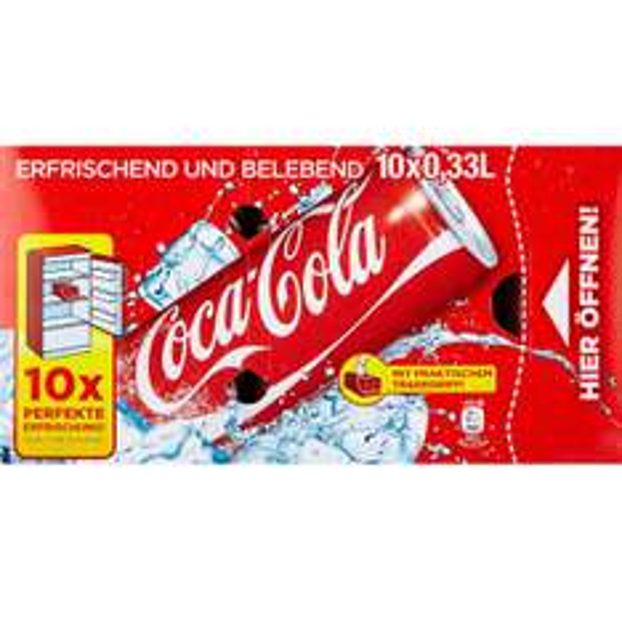 Coca Cola Friendspack 10x 0,33 Liter Bei Rewe 3,99€