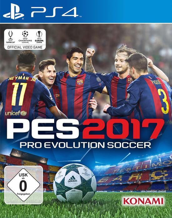 PES 2017 (PS4) für 19,99€ VSK frei (Gamestop)