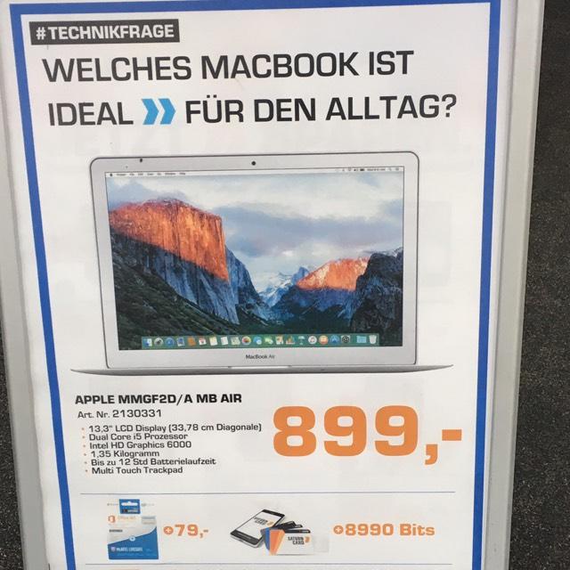 Apple MacBook Air 128GB MMGF2 D/A