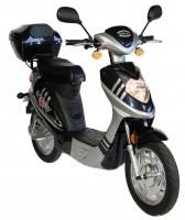 Scoody 45 Elektroroller in dunkelblau/silber bei motorroller.de