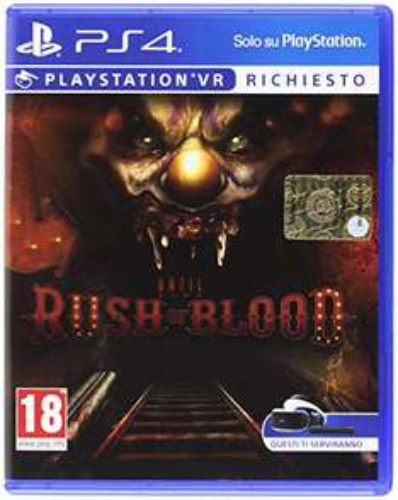 Until Dawn: Rush of Blood PS4 PSVR [Amazon.it] für 13,60 incl. Versand