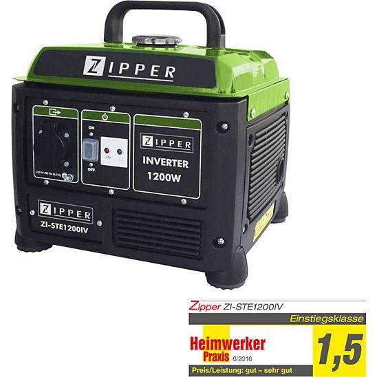 [Netto MD - Online]  Zipper ZI-STE 1200IV Inverter Stromerzeuger für 143,10 Euro