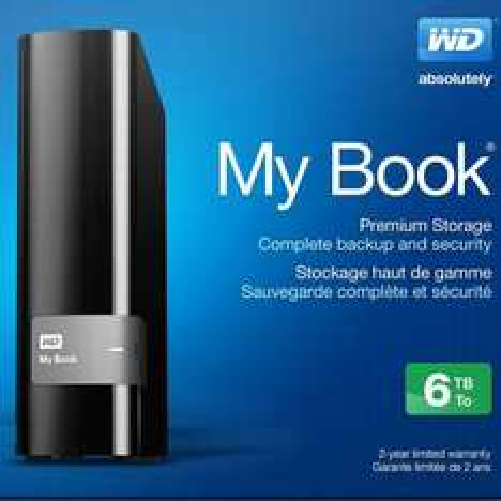 Western Digital My Book 6TB (Recertified) -> wieder auf Lager!