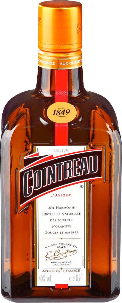 0,7 Liter Cointreau (frz. Orangen-Liqueur) mit Cointreau-Fizz-Glas für 12,99 € [Kaufland]