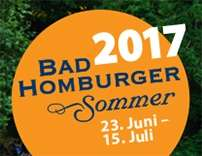 [Lokal] Bad Homburger Sommer Konzerte, Open-Air-Kino und Theater 23.06 - 15.07.2017