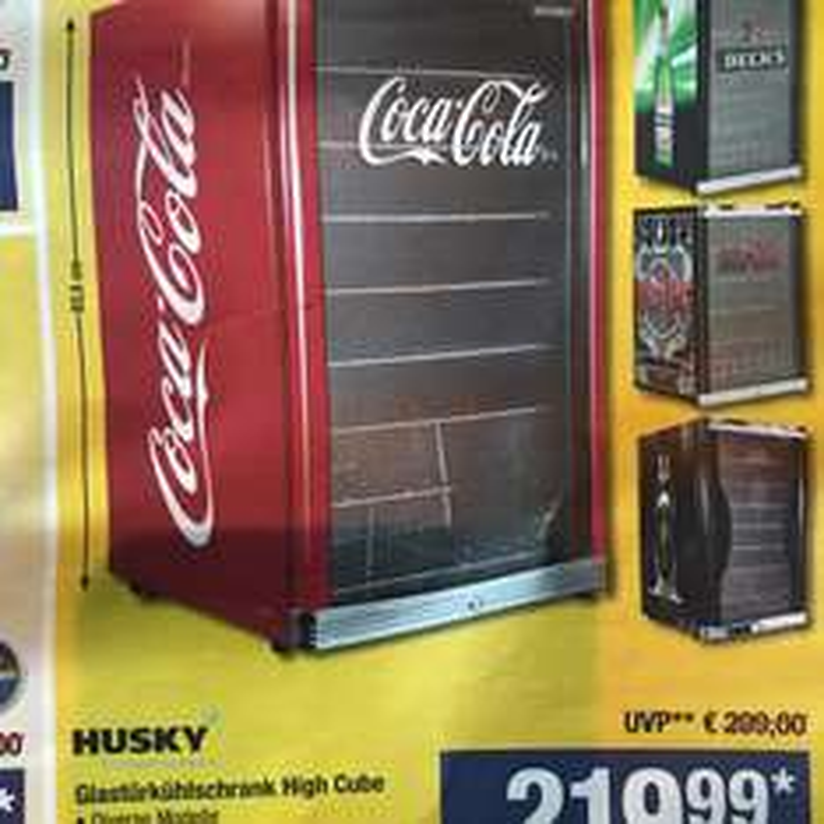METRO Husky Highcube ACDC Afri Becks Coca Cola + 5L Primitivo