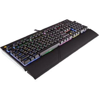 Corsair STRAFE RGB CHERRY MX Brown USB Deutsch schwarz (kabelgebunden)
