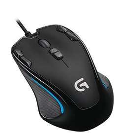 [Amazon WHD & Prime] Logitech G300s Optical Gaming Maus schwarz (sehr gut, 16x)