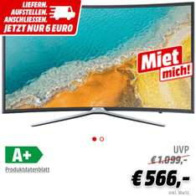 SAMSUNG UE55K6379 Curved 55 Zoll TV