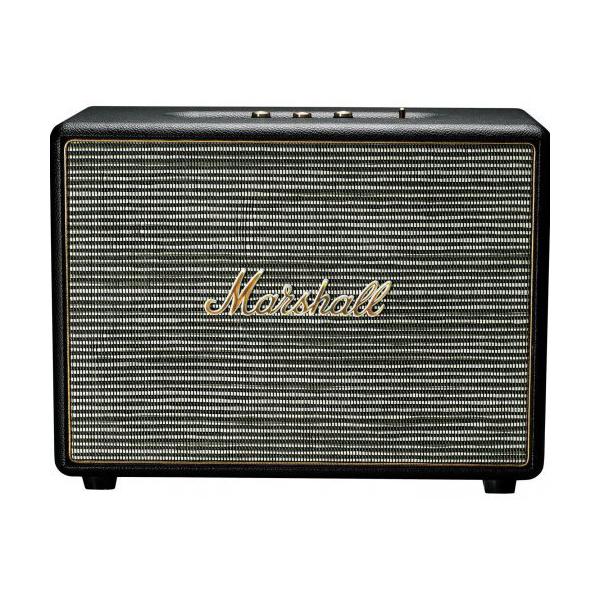 Marshall Woburn CR (schwarz) - Aktiver Lautsprecher (Bluetooth 4.0, AUX-In, optischer Eingang)