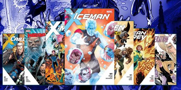 Gratis Comics bei Marvel: Iceman, Jean Grey, Generation X, Cable, X-Men: Blue, X-Men: Gold, Weapon X