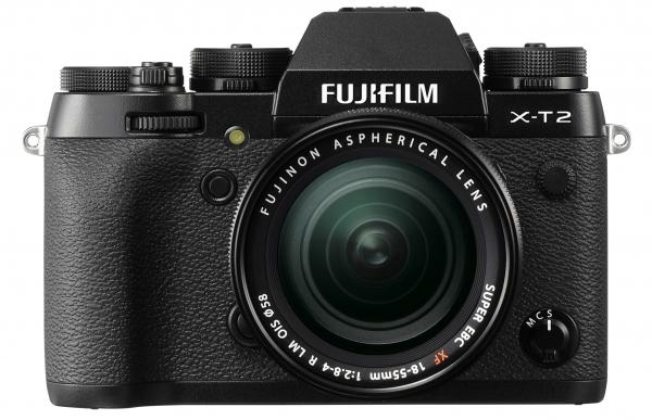 Fujifilm X-T2 mit XF 18-55mm F2.8-4 R LM OIS- Batteriegriff gratis - Bestpreis für deutsche Ware