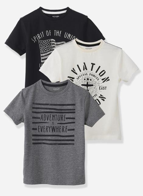Sale bei [vertbaudet] z.B. Dreierpack T-Shirts für 10,44€ jetzt mit 10€ Rabatt ab 50€ *Update*