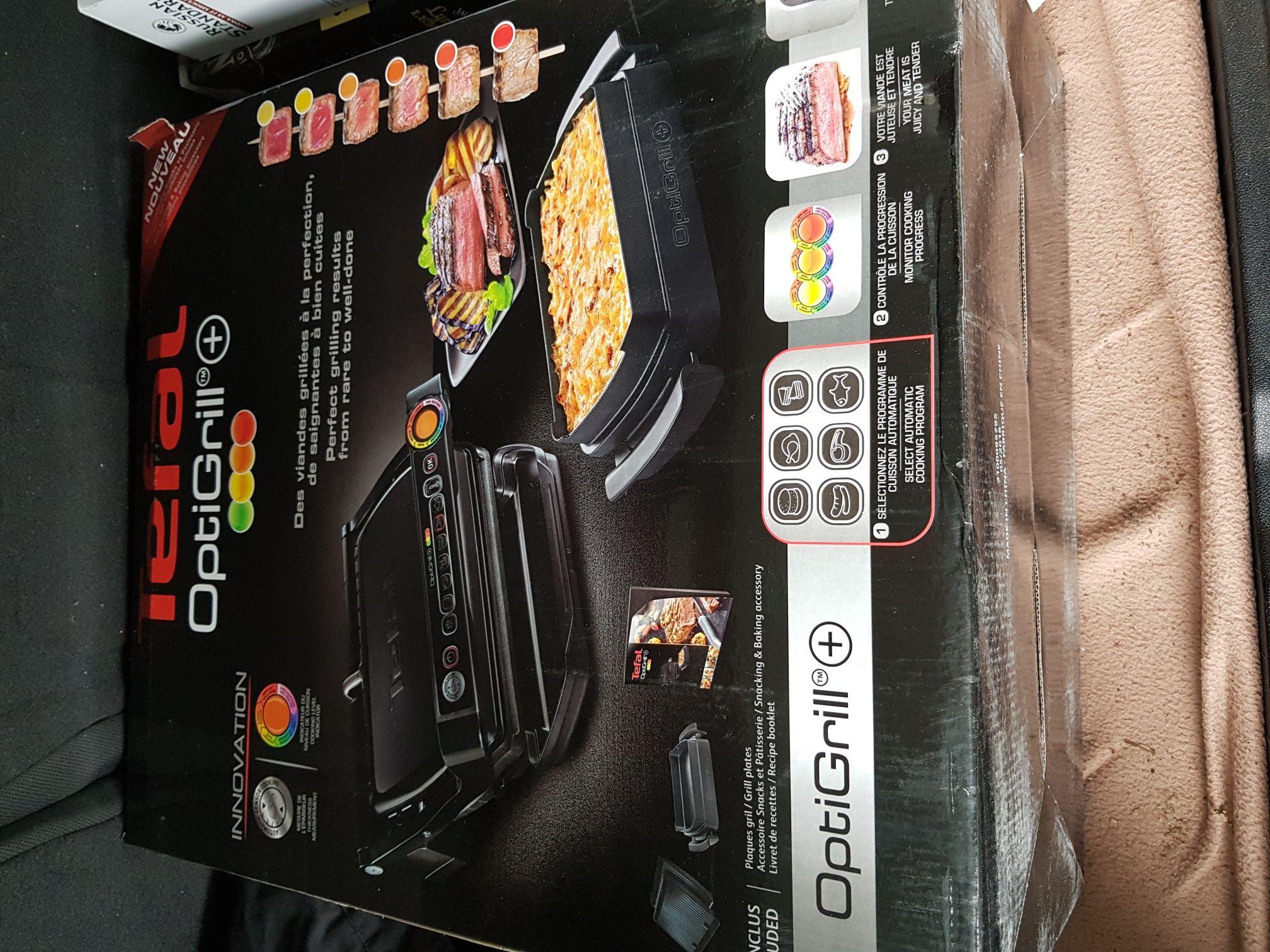 Metro Kassel Tefal GC7148 Optigrill plus Snacking & Baking
