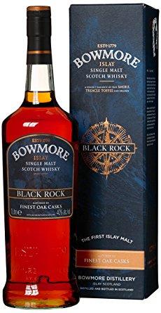 Whisky - Bowmore Black Rock 1 Liter - 19,99€ (Grenzgänger CZ Travel-Free-Shop)