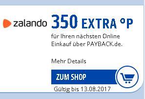 [Zalando] Durch Payback Coupon 3,50€ sparen (Freebie möglich)